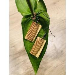 Leseni viseči uhani - AKACIJA
