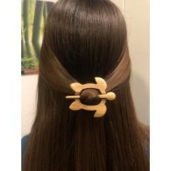 Lesena sponka za lase Vita